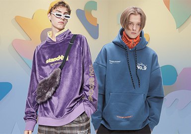 Funky Sweatshirt -- 20/21 A/W Silhouette Trend for Menswear