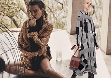 Key Elements -- 20/21 A/W Silhouette Trend of Women's Knitwear