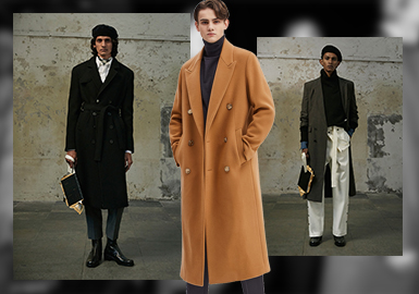 Business Casual Coat -- 20/21 A/W Silhouette Trend for Menswear