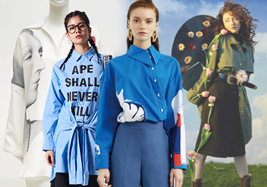 Stylish Shirt -- Pre-Fall 2019 Womenswear Designer Brand