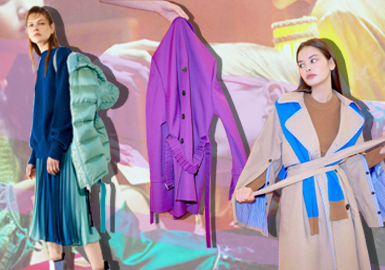 Coats -- 19/20 A/W Item Analysis of Womenswear Trunk Show