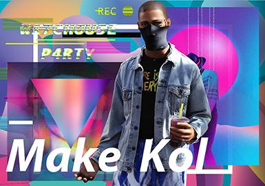 MAKE KOL -- 2020 S/S Pattern Trend for Menswear