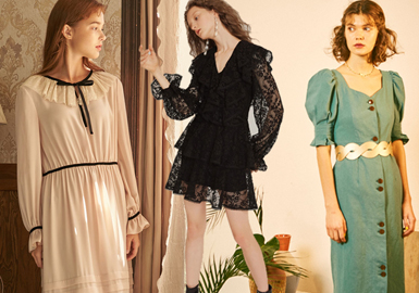 Comeback of Romanticism -- 2019 Resort Analysis of Designer Brand's Dress
