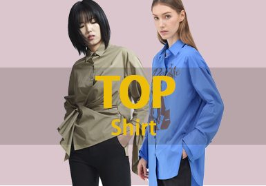 Top Shirt -- 2019 Resort Women's Hot Items
