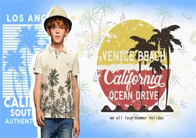 Coconut Grove -- 2020 S/S Pattern Trend of Kidswear