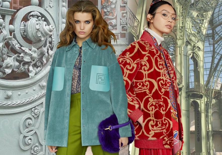 Fendi -- Pre-Fall 2019 Womenswear at Catwalk