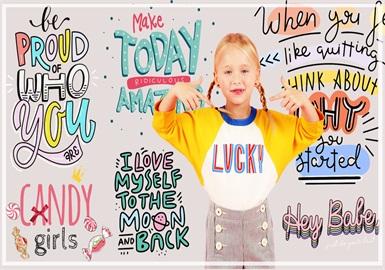 Kids' Statements -- 2020 Pre-fall Pattern Trend of Girls' Wear