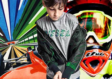 Racing -- 19/20 A/W Theme Analysis of Boy's Wear