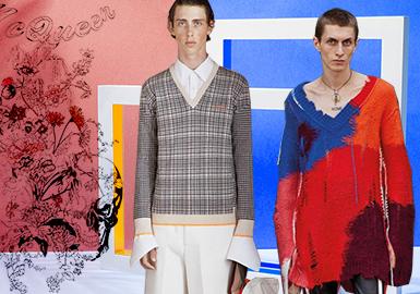 Alexander McQueen -- 19/20 A/W Analysis of Brands of Men's Knitwear on Trunk Show