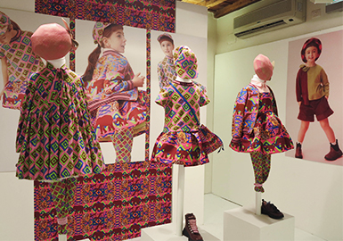 Fabrics&Patterns -- 19/20 A/W Trend Analysis of Florence Pitti Bimbo Kidswear Exhibition