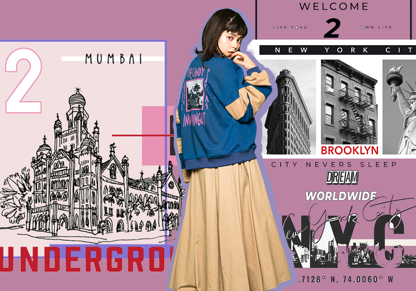Cities -- 20/21 A/W Pattern Trend for Womenswear