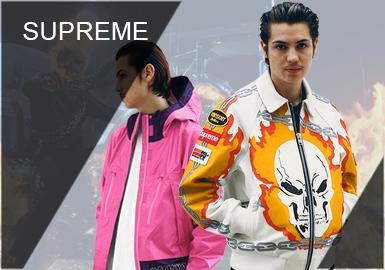 Supreme -- 2019 S/S Recommended Designer Brand for Menswear
