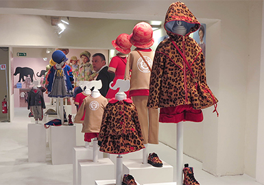 Theme Collection -- 19/20 A/W Analysis of Pitti Bimbo Exhibition in Florence