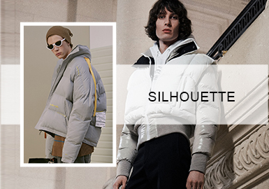 Stylish Puffer Coats -- 20/21 A/W Silhouette Trend of Menswear