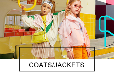 Coats -- 2019 S/S Analysis of Benchmark Brands for Girl's Wear