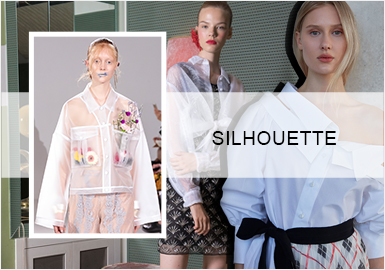 Simplicity&Versatility -- 2020 S/S Silhouette Trend for Women's Shirts