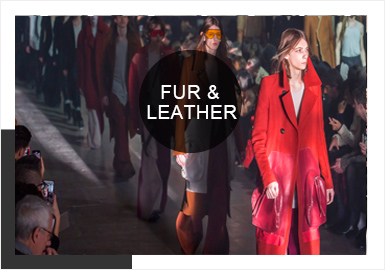 Splicing -- 19/20 A/W Analysis of Catwalks of Men's Fur&Leather