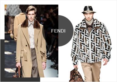 Fendi -- 19/20 A/W Analysis of Catwalk Brands of Menswear