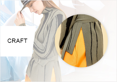 Casual Cutting -- 2020 Pre-Fall Craft Trend of Women's Knitwear