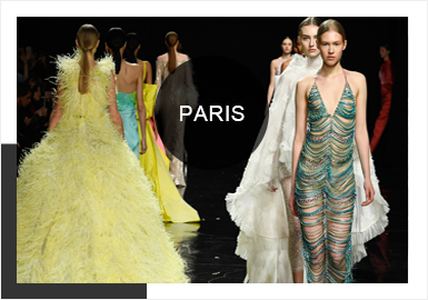 Warm Colors -- 2019 S/S Analysis of Wedding Dress in Paris Couture Week