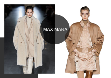 Max Mara -- Analysis of A/W 19/20 Womenswear Brands at Catwalks