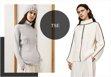 TSE -- 19/20 A/W Analysis of Brands of Women's Knitwear at Catwalks