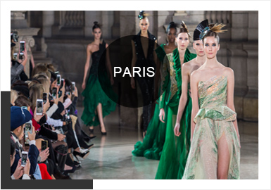 Cool Colors -- 2019 S/S Analysis of Wedding Dress in Paris Couture Week