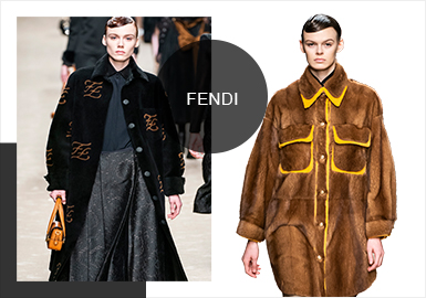 Fendi -- Analysis of A/W 19/20 Womenswear Brands at Catwalks