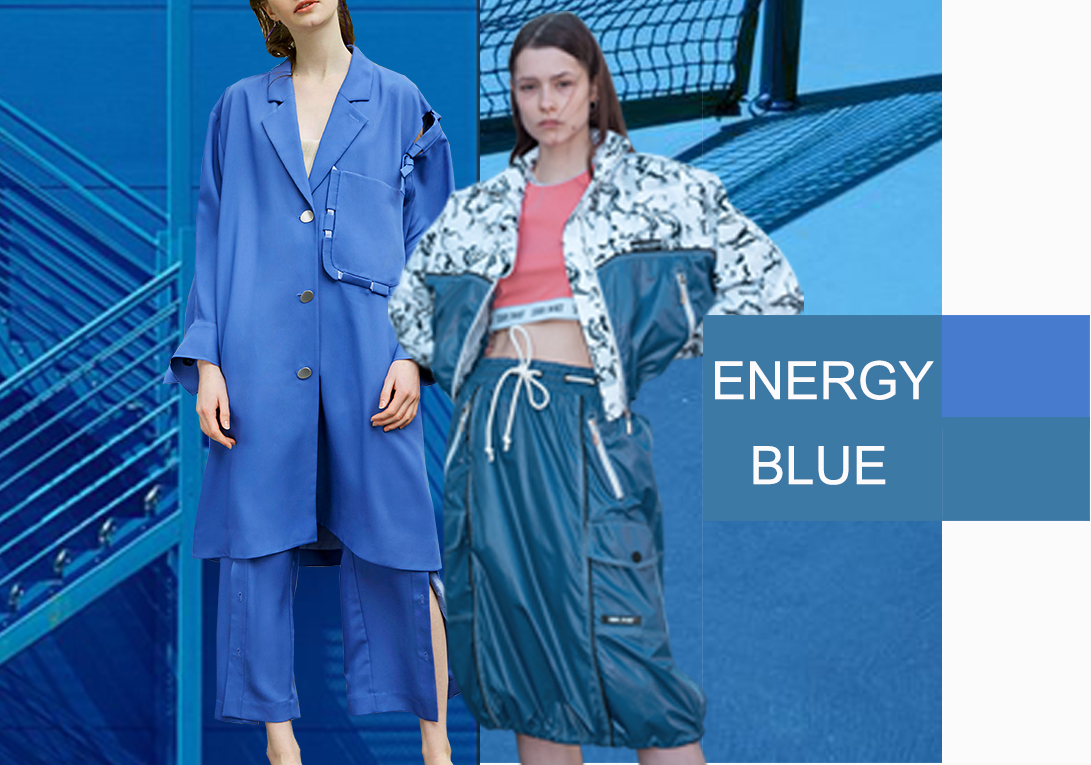 DresdenBlue -- 2020 S/S Color Trend for Women's Suits