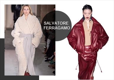 Salvatore Ferragamo -- Analysis of 19/20 A/W Catwalk Brands for Womenswear