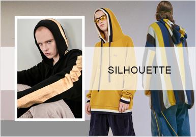 Hoodie -- 20/21 A/W Silhouette Trend of Men's Knitwear