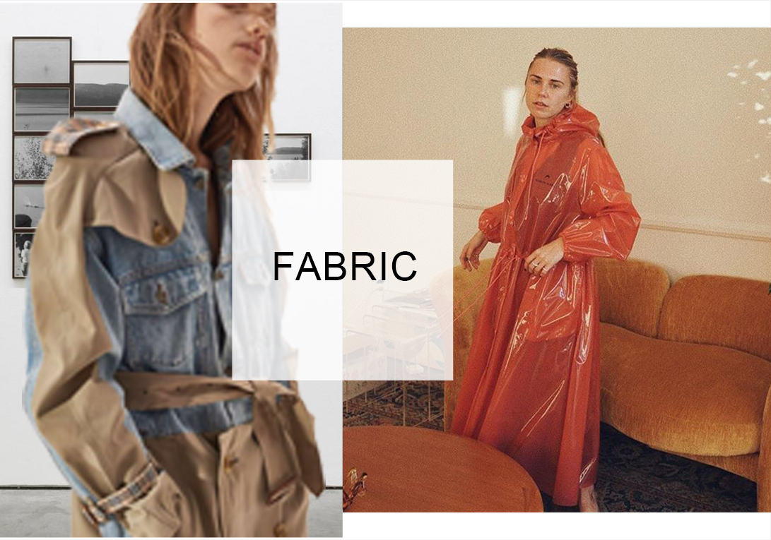 Free and Stylish -- 20/21 A/W Fabric Trend for Trench Coat
