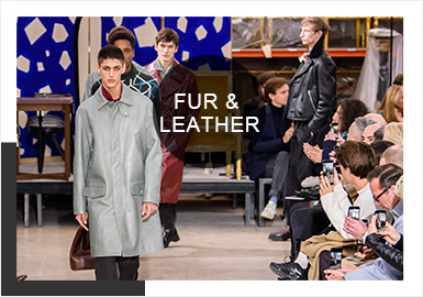 Silhouettes -- 19/20 A/W Analysis of Men's Fur&Leather on Catwalks