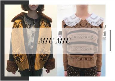 Evanescent Beauty -- Miu Miu's Women's Knitwear Trunk Show