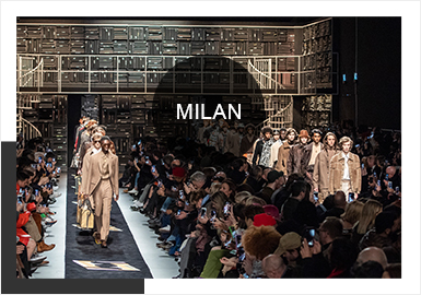 Milan -- Analysis of 19/20 A/W Catwalks for Menswear
