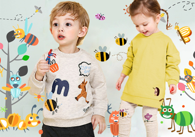 Insects -- Theme Trend of 2020 S/S Wear of Infants and Kids