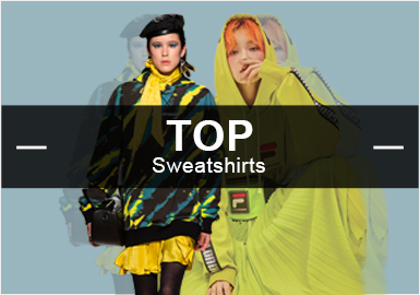 Sweatshirts -- Hot items in 2019 S/S Womenswear Market