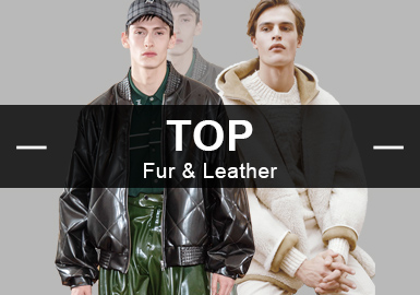 Fur&Leather -- Analysis of 18/19 A/W Hot Items in Menswear Market