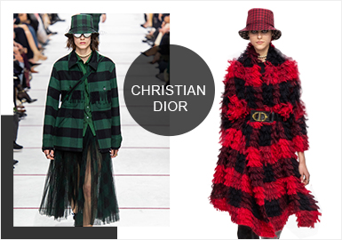 Christian Dior -- Analysis of  19/20 A/W Catwalk Brands of Womenswear