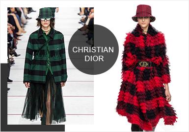 Christian Dior -- Analysis of  19/20 A/W Catwalk Brands of Womenswear