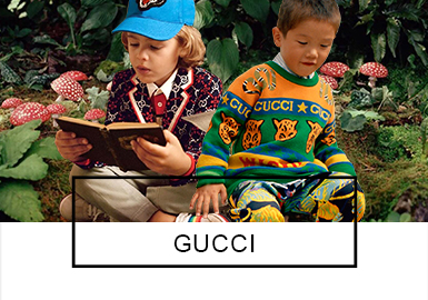 Gucci -- Recommended 19 S/S Benchmark Brands of Boy's Wear