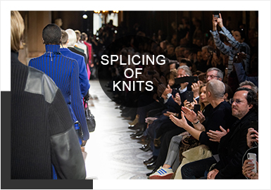 Splicing -- 19/20 A/W Analysis of Four Fashion Weeks for Men's Knitwear