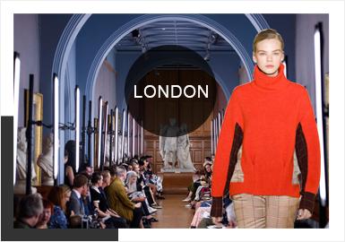 Self London -- 19/20 A/W Analysis of Catwalks for Women's Knitwear