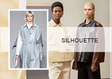 Unisex Style -- 2020 S/S Silhouette Trend for Women's Leather Coats