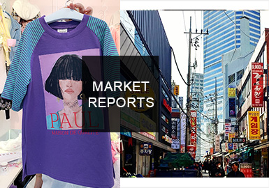 Analysis of 2019 S/S Kidswear in South Korean Wholesale Markets