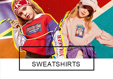 Sweatshirt -- 2019 S/S Analysis of Benchmark Brand for Girl's Wear