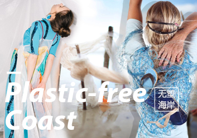 Plastic-Free Coast -- Design&Development of S/S 2020 Womenswear Themes