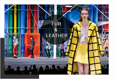 Practical Colors -- Comprehensive Analysis of Fur&Leather at Catwalks
