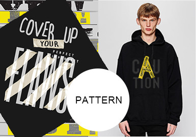 Creative Slogans -- A/W 20/21 Pattern Trend for Menswear