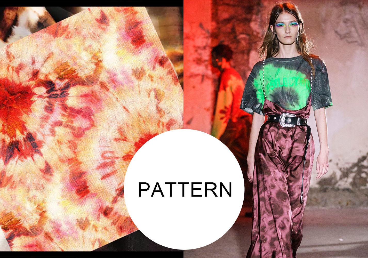Tie Dyeing -- S/S 2020 Pattern Trend for Womenswear